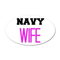 Navy Wife Wall Decal