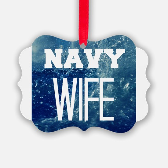 Navy Wife Ornament