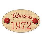 1972 sticker Bumper Stickers