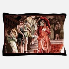 Red Death crashes the Masked Ball Pillow Case