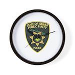Hawaii Police Mason Wall Clock