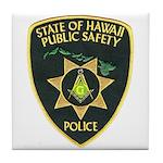 Hawaii Police Mason Tile Coaster