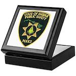 Hawaii Police Mason Keepsake Box