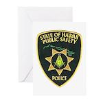Hawaii Police Mason Greeting Cards (Pk of 20)