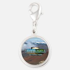 ABH Haleakala Silver Round Charm