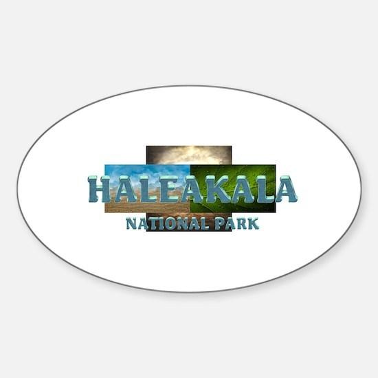 Abh Haleakala Sticker (oval)