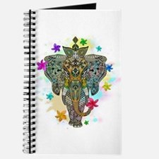 Elephant Zentangle Doodle Art Journal