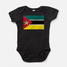 Cute Mozambique Baby Bodysuit