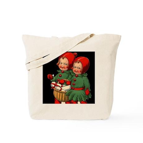 Christmas Holly Kids Tote Bag