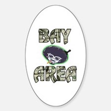 BAY AREA BIZZNESS Oval Decal