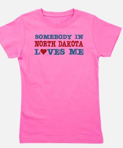 Cute Retro solopress state town usa someone heart Girl's Tee
