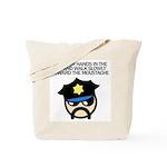 Walk Toward the Moustache Tote Bag