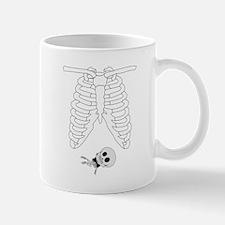 Maternity Skeleton Shirt Mug