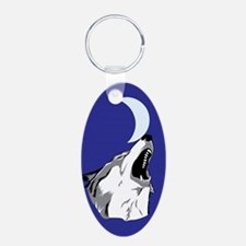 Howling Wolf Keychains Keychains