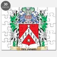 Telford Coat of Arms - Family Crest Puzzle