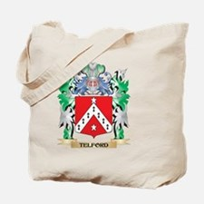 Telford Coat of Arms - Family Crest Tote Bag