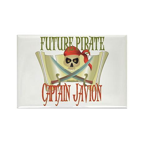 Captain Javion Rectangle Magnet