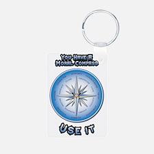 Unique Compass Keychains