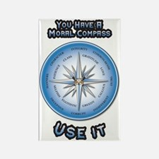 Cute Compass rose Rectangle Magnet