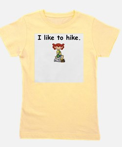 Cute Hiker hiking Girl's Tee
