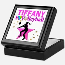 CUSTOM VOLLEYBALL Keepsake Box