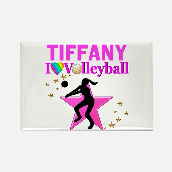CUSTOM VOLLEYBALL Rectangle Magnet (10 pack)