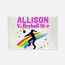 CUSTOM VOLLEYBALL Rectangle Magnet