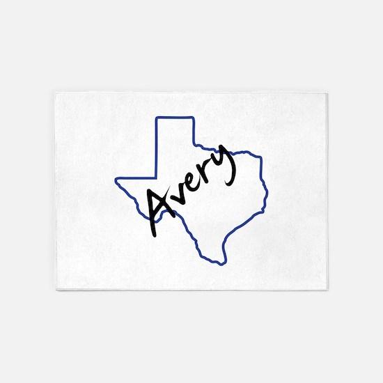 Avery Texas 5'x7'Area Rug