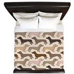 Dacshund Bedding King Duvet