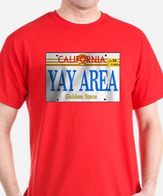 YAY AREA -- LINCENSE T-Shirt