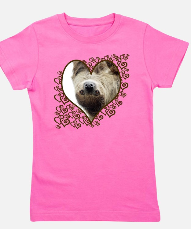 Cute Wildlife with lions Girl's Tee