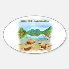 Jordan Pond - Acadia National Park Decal