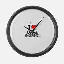 I Love Data Science Large Wall Clock