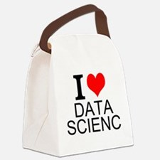 I Love Data Science Canvas Lunch Bag