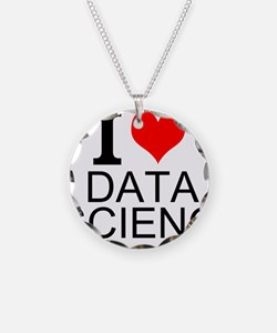 I Love Data Science Necklace