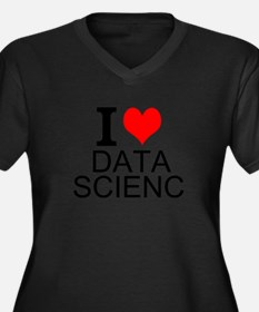 I Love Data Science Plus Size T-Shirt
