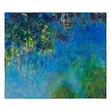 Monet wisteria King Duvet Covers