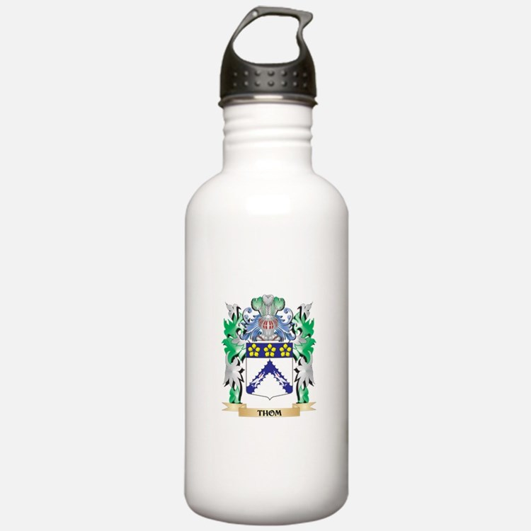 Thom Coat of Arms - Fa Water Bottle