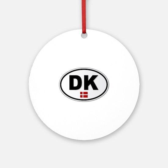 DK Platea Round Ornament
