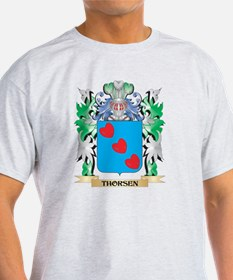 Thorsen Coat of Arms - Family Crest T-Shirt