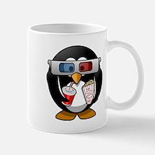 3D Cinema penguin Mugs