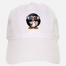 3D Cinema penguin Baseball Baseball Cap
