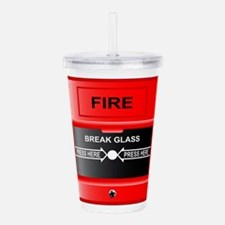 Break Glass Acrylic Double-wall Tumbler