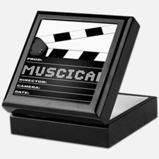 Musical Movie Clapperboard Keepsake Box