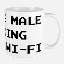 Single Male Looking for a Wi-Fi Mugs
