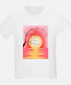 Sunset and Tree T-Shirt