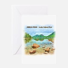 Jordan Pond - Acadia National Park Greeting Cards