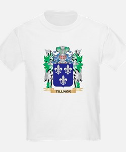 Tillmon Coat of Arms - Family Crest T-Shirt