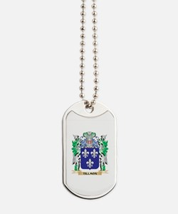 Tillmon Coat of Arms - Family Crest Dog Tags
