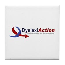 Cute Dyslexie Tile Coaster